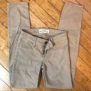 Abercrombie 5 Pocket Skinny Jeans- Unisex Kids